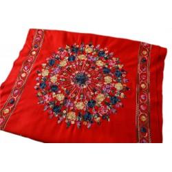 Grand Châle  - Cachemire broderie Pashmina - Foulard - Etole 200 X 70