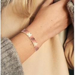 Bracelet magnétique cuivre avec 6 aimants Anti-Douleurs - Rhumatisme Arthrose