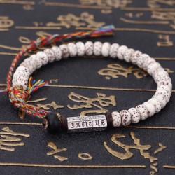 Bracelet de chance Tibétain perles Bodhi Mantras