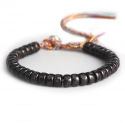 Bracelet de chance Tibétain graines Bodhi Mantra Bouddhiste