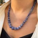 Collier progressif Aventurine Bleue