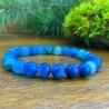 Bracelet Homme Femme Pierres Naturelles  - Agate bleue