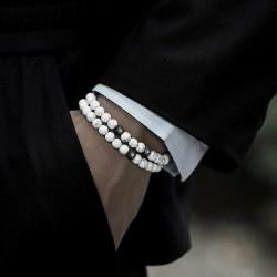 Bracelet Homme Femme Pierres Naturelles - Cornaline