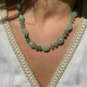 Collier en Perles Naturelles pierres Amazonite