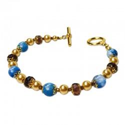 Bracelet Divine, Aventurine et Cristal