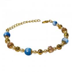 Bracelet Mystic, Aventurine et Cristal