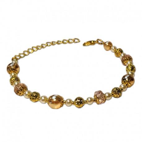 Bracelet Mystic, Quartz et Cristal