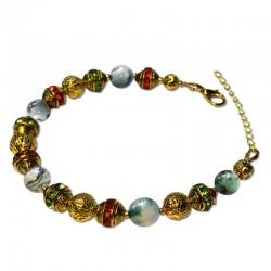 Bracelet Alchimie, Agate Tree et Cristal