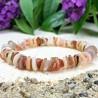 Bracelet Pierres Naturelles Agate Nacre coquillage - Taille au choix